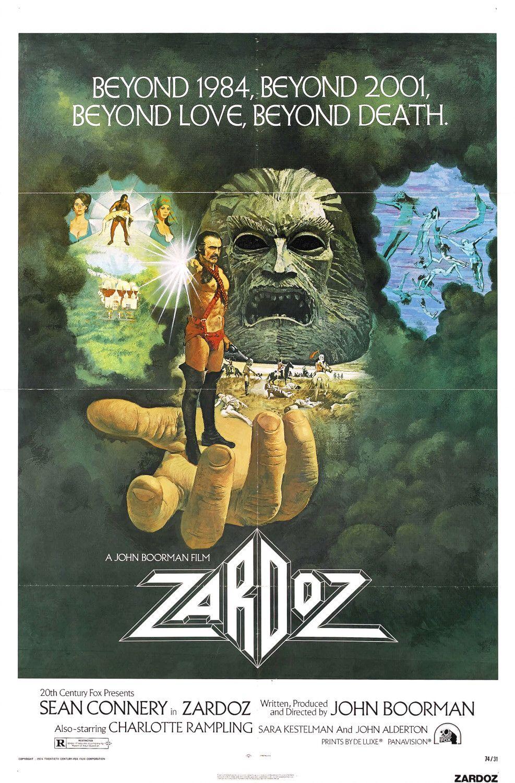 Zardoz (1974) Poster