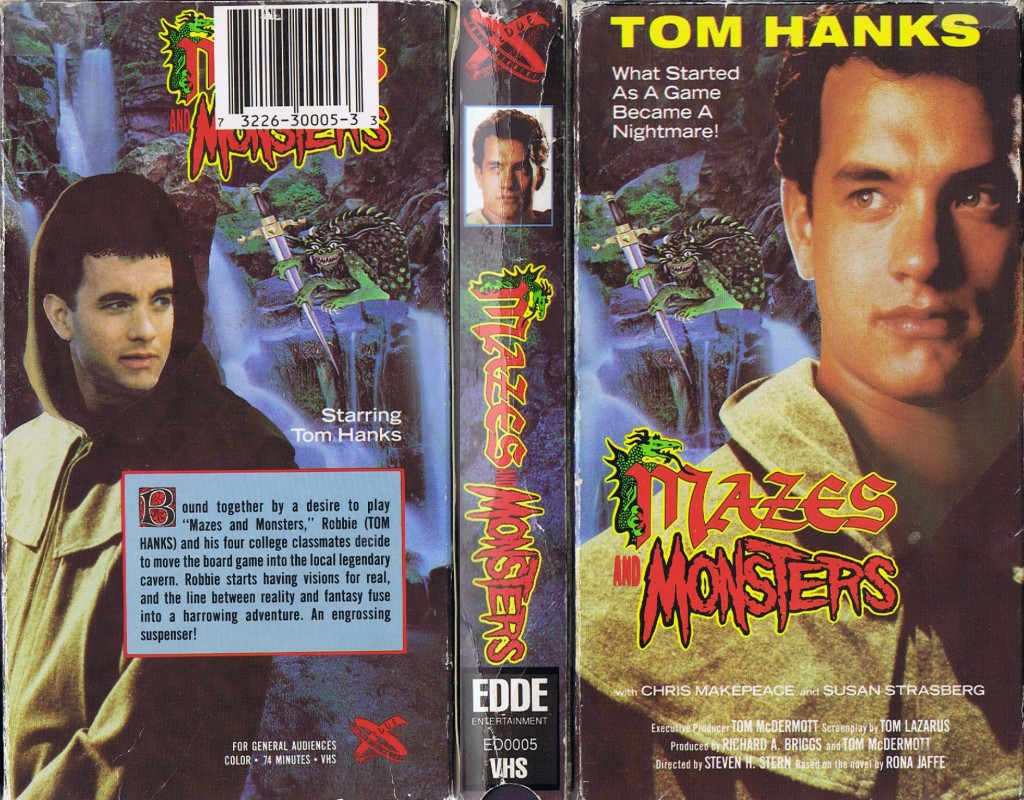Mazes And Monsters (1982) - VHS case