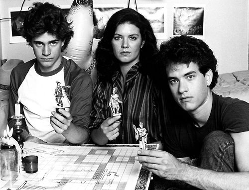 Mazes & Monsters (1982) - cast photo