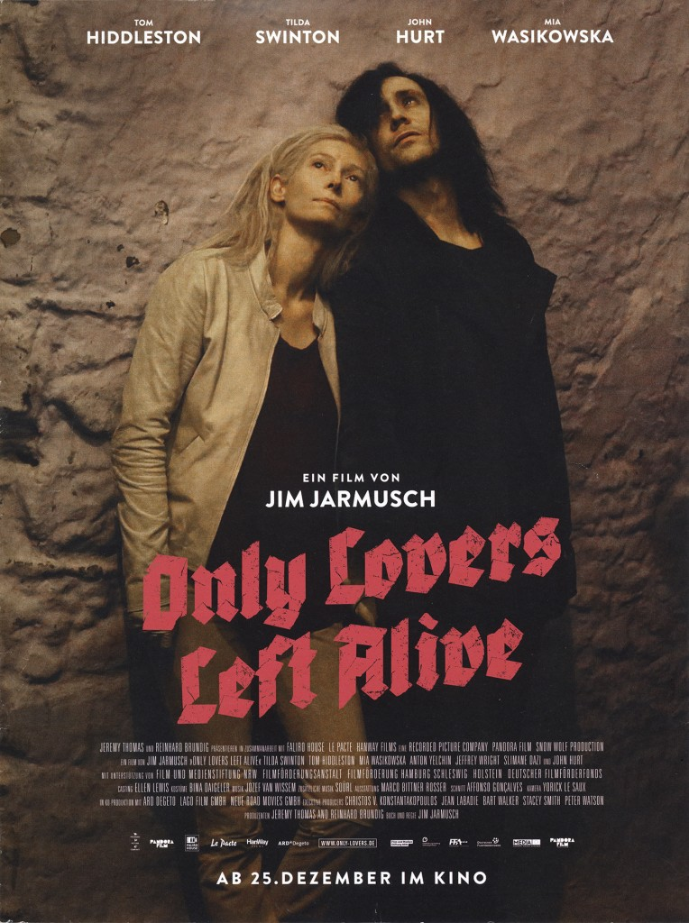 Only Lovers Left Alive (2013) - poster