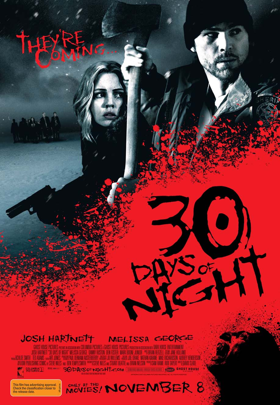 30 Days Of Night (2007) - poster