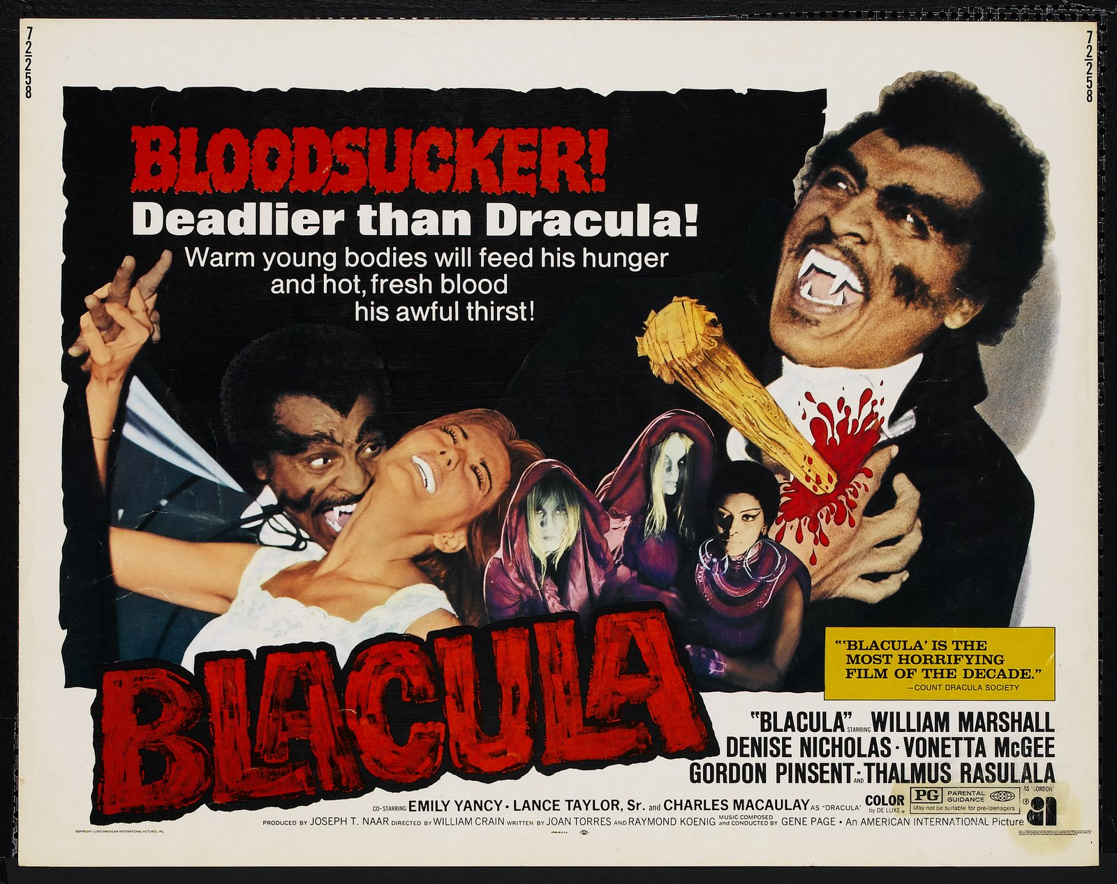 Blacula (1972) - poster