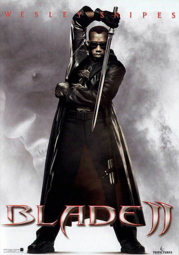 Blade II (2002) - poster