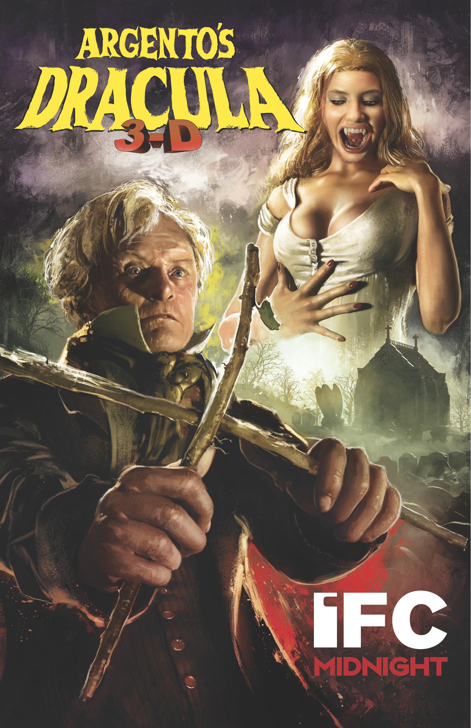 Dracula 3D (2012) - poster
