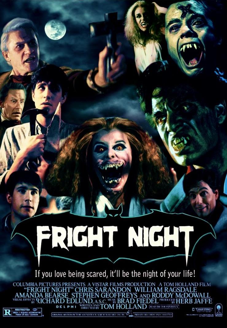 October 1st Fright Night 1985 B Movie Bffs
