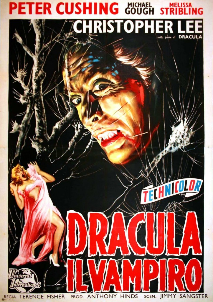 Horror Of Dracula (1958) - poster