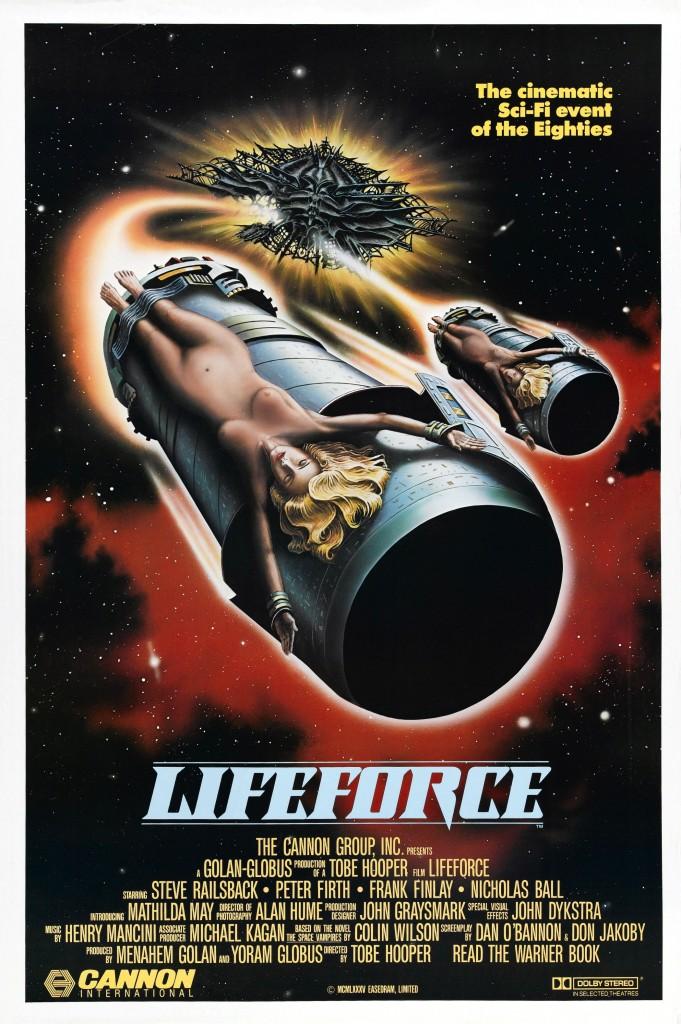 LIfeforce (1985) - poster