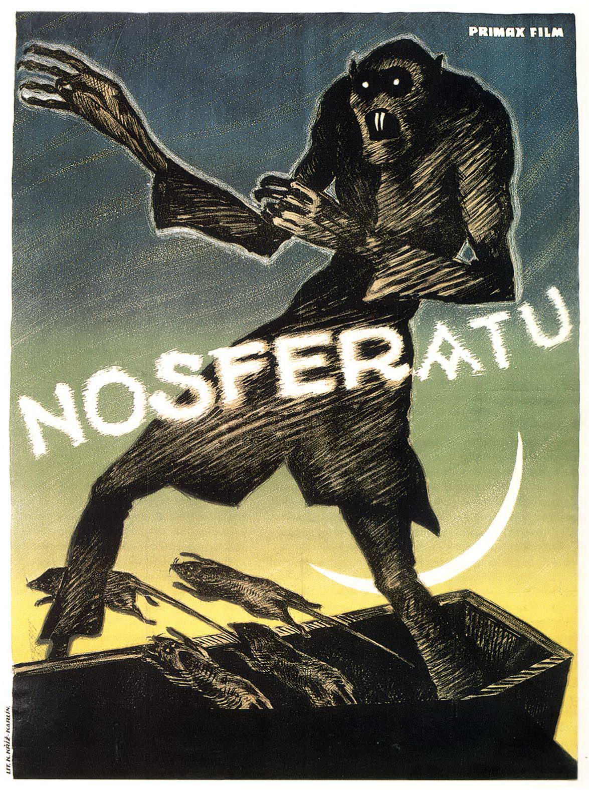 Nosferatu (1922) - poster