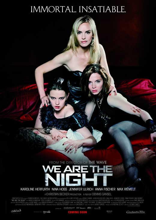 We Are The Night (2010) - poster