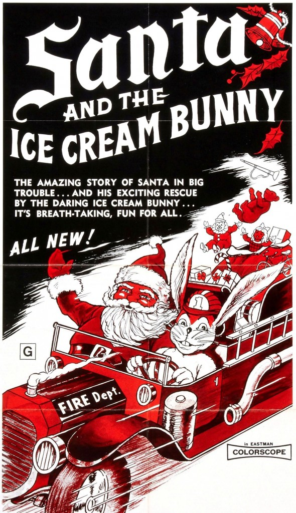 Santa and the Ice Cream Bunny (1972) - poster