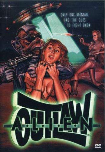 Alien Outlaw (1985) - DVD case