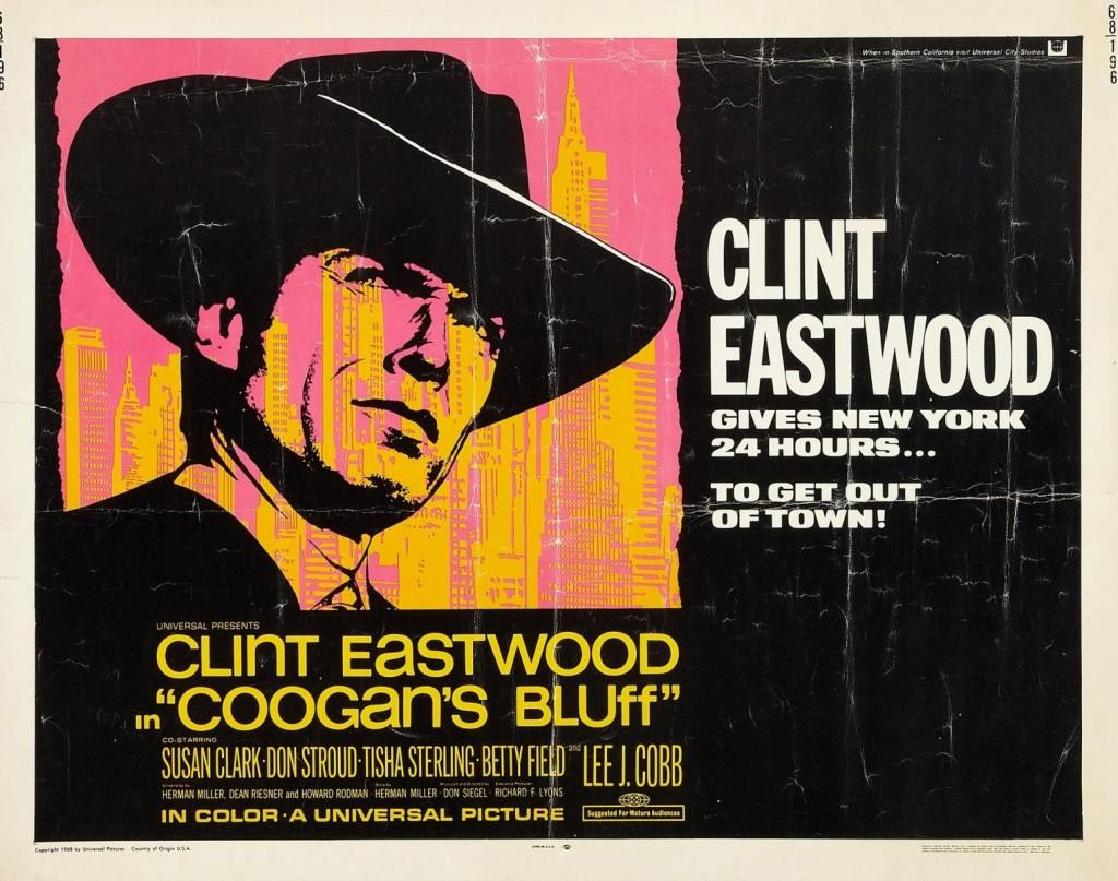 Coogan's Bluff (1968) - poster