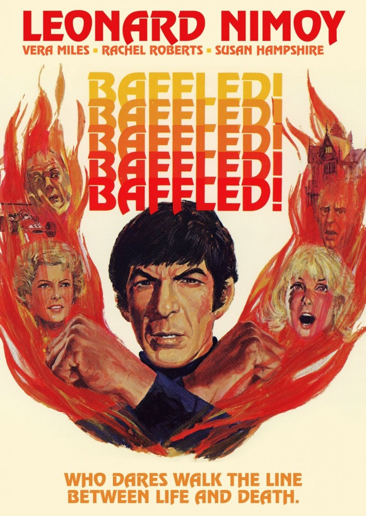Baffled (1973) - poster