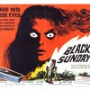 Black Sunday (1960) - poster