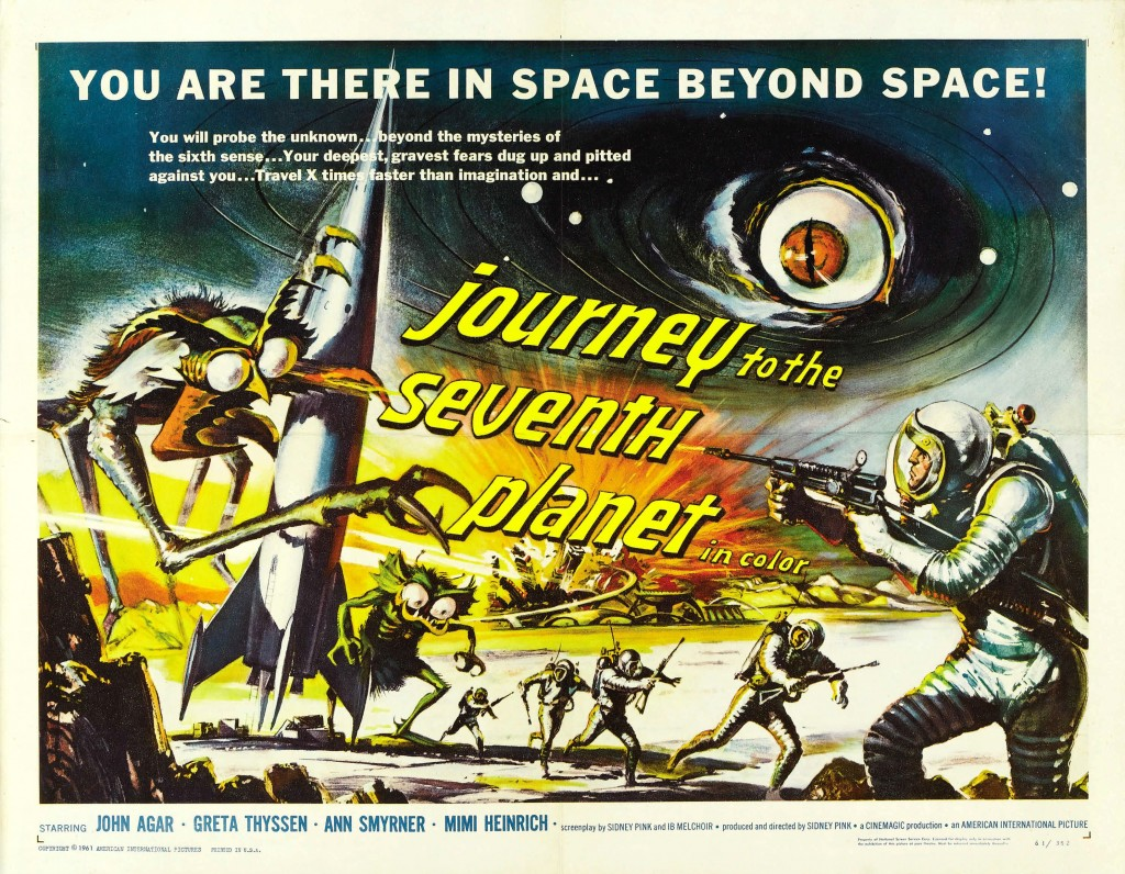 Journey To The Seventh Planet (1962) - poster