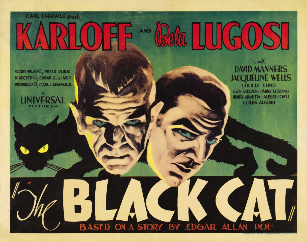 The Black Cat (1934) - poster art