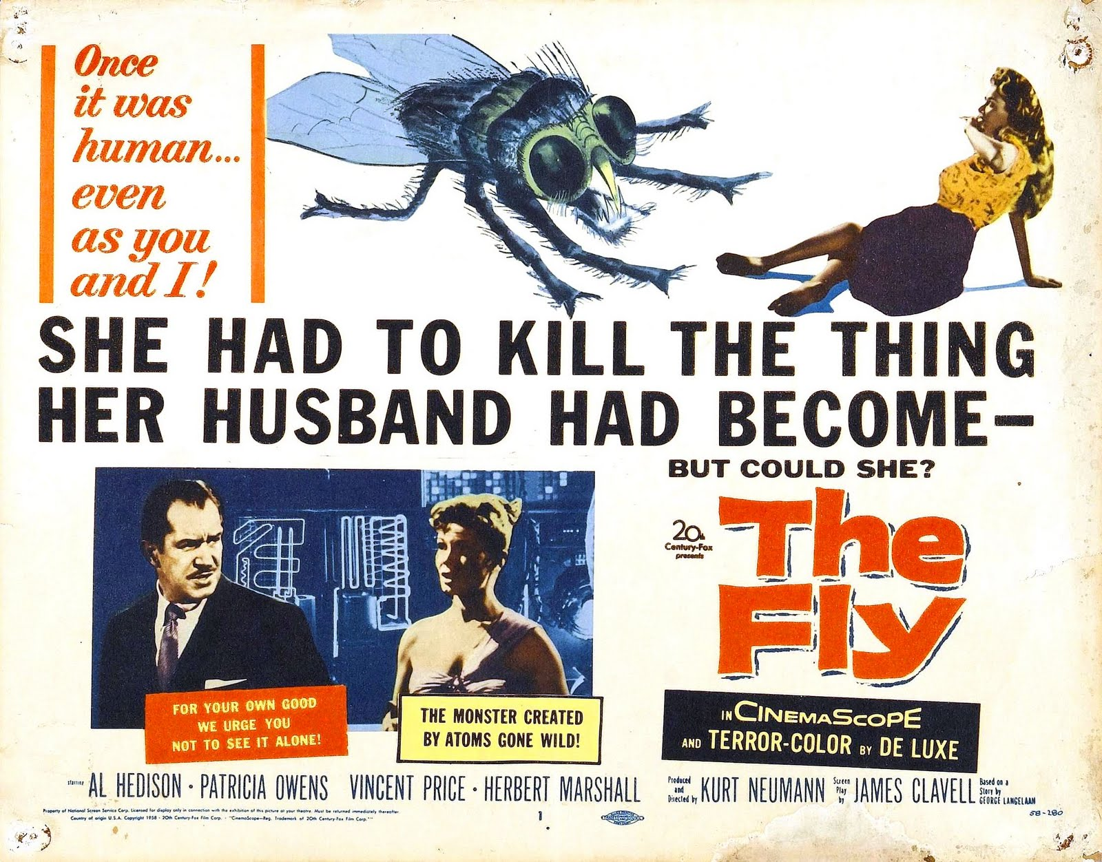 The Fly (1958) – and The Fly (1986) | B-Movie BFFs!
