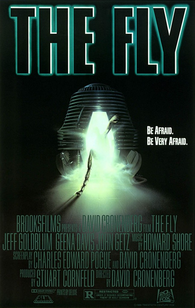 The Fly (1986) - poster