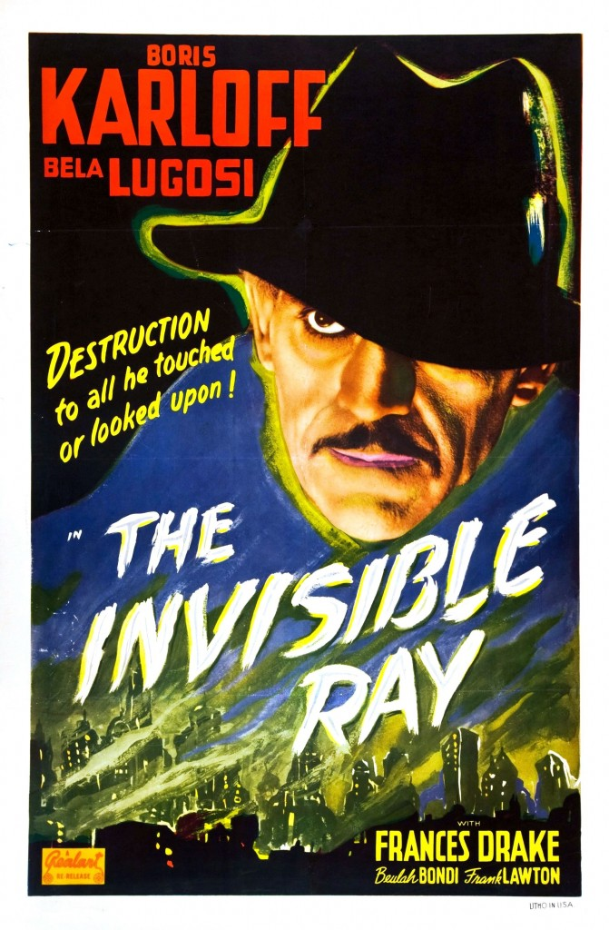 The Invisible Ray (1936) - poster 1