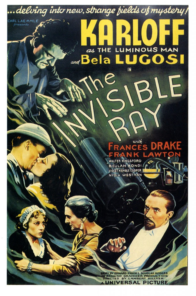 The Invisible Ray (1936) - poster 2