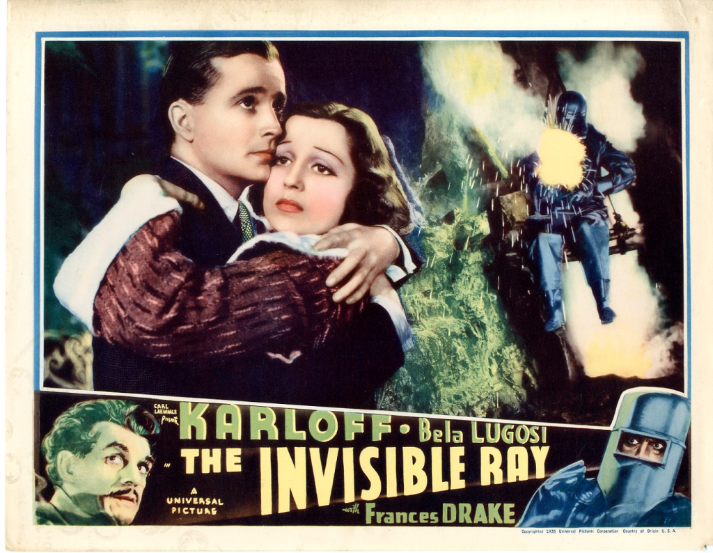 The Invisible Ray (1936) - poster 3