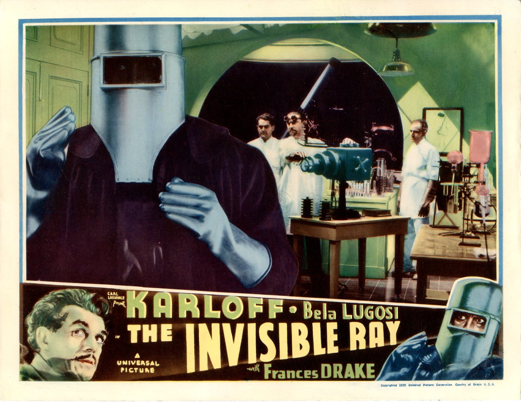 The Invisible Ray (1936) - poster 4