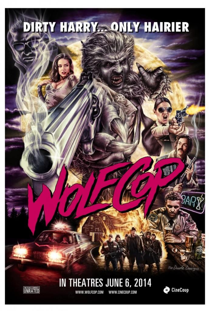 WolfCop (2014) - poster