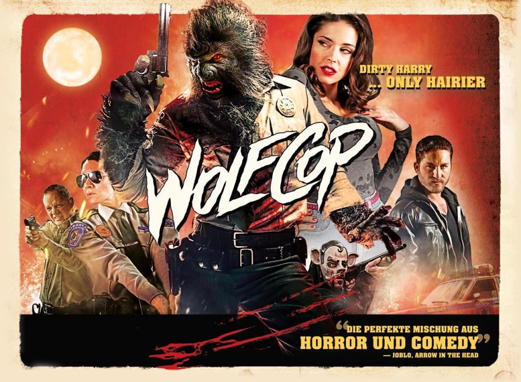WolfCop (2014) - poster art