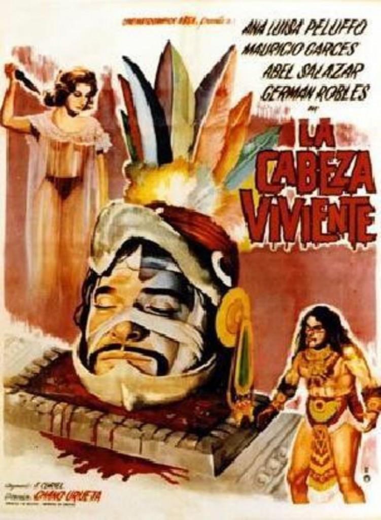 La Cabeza Viviente (1963) - poster 2