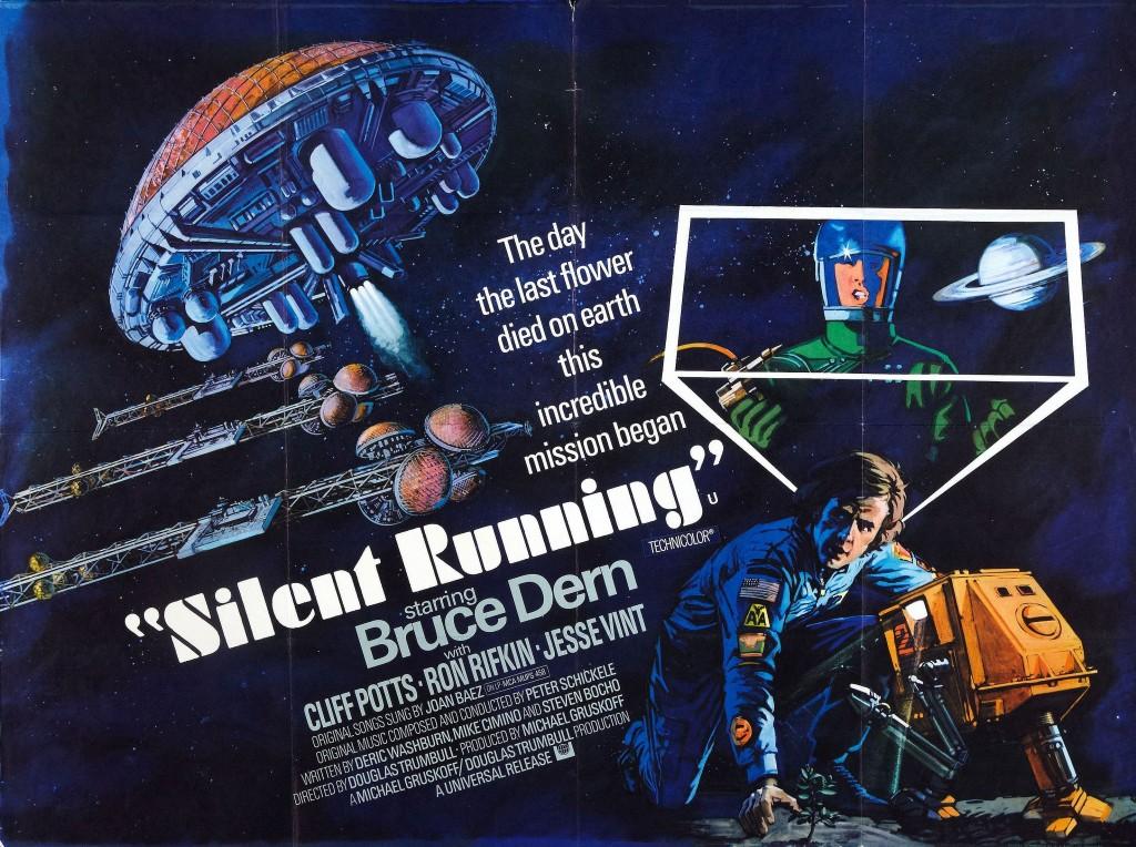 Silent Running (1972) - poster