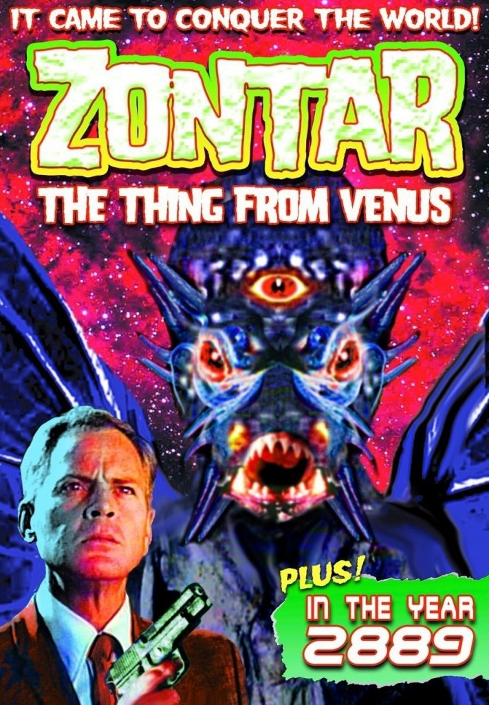 Zontar - The Thing From Venus (1966) - DVD cover