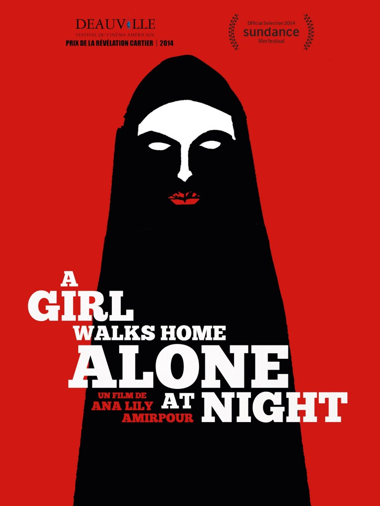 A Girl Walks Home Alone At Night (2014) - poster