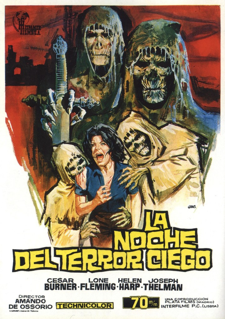 Tombs of the Blind Dead (1971) - poster