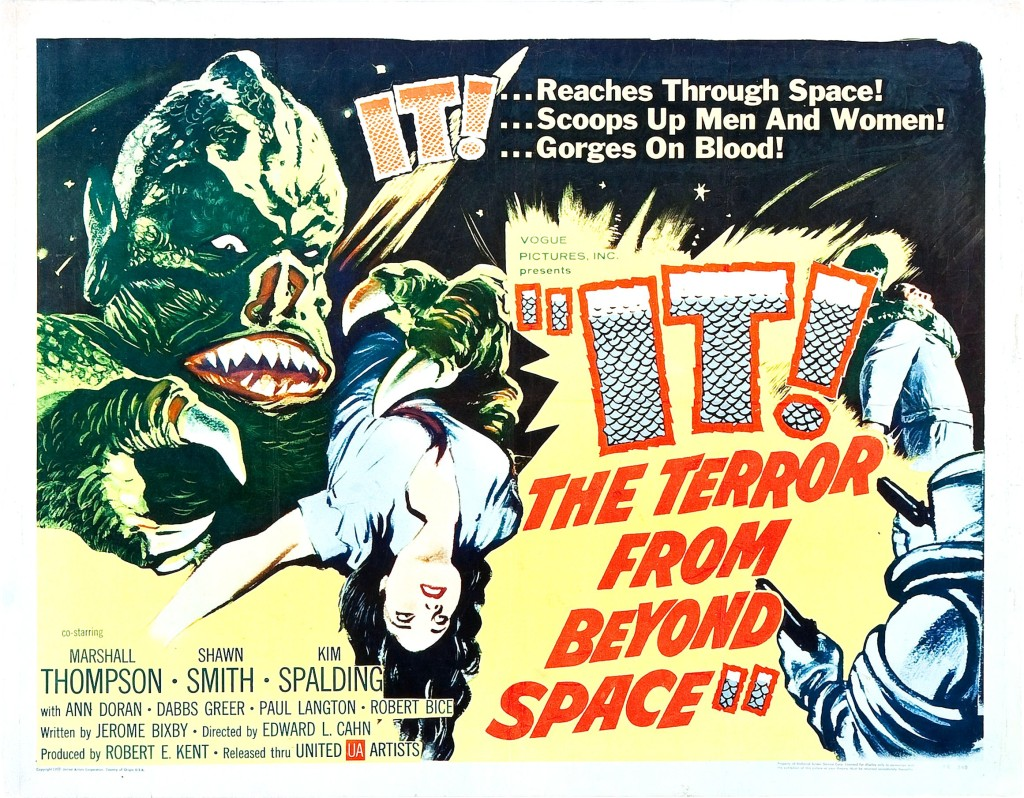 It The Terror From Beyond Space (1958) - poster