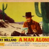 A Man Alone (1955) - poster