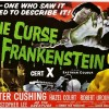 The Curse of Frankenstein (1957) - poster