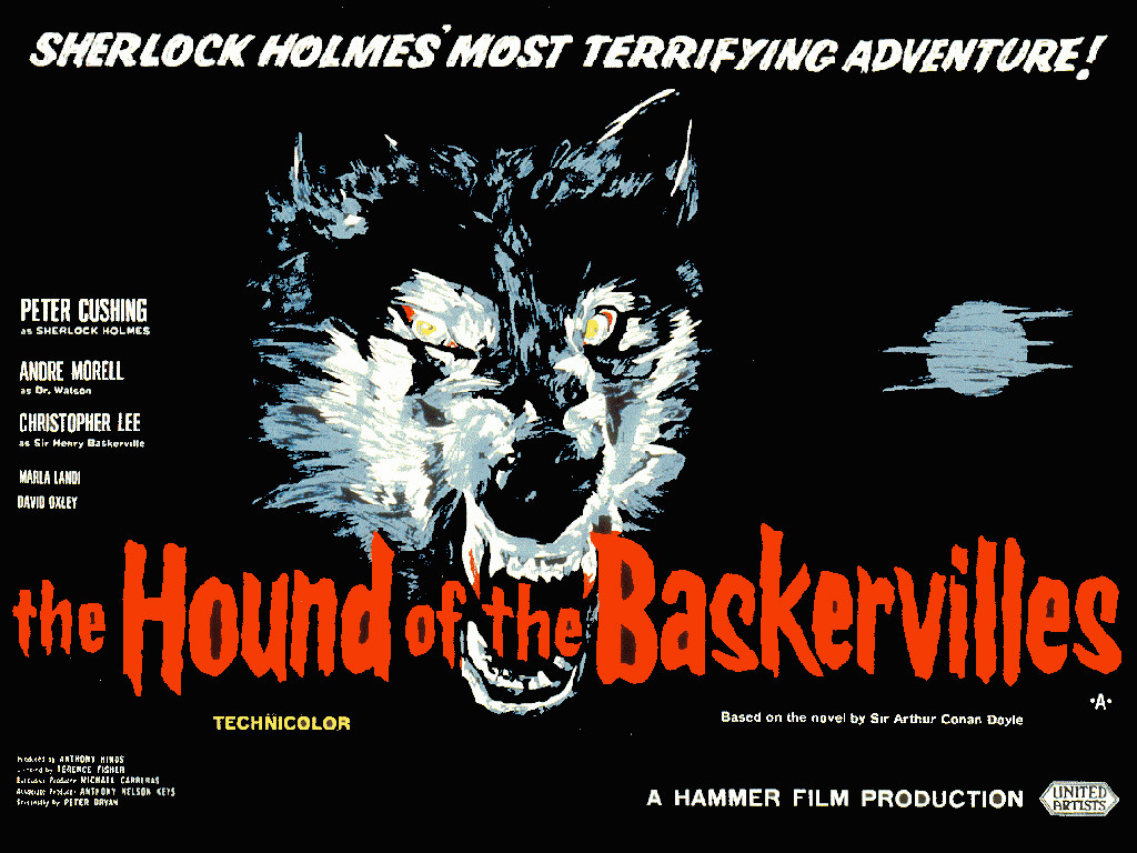 The Hound of the Baskervilles (1959) - poster 2
