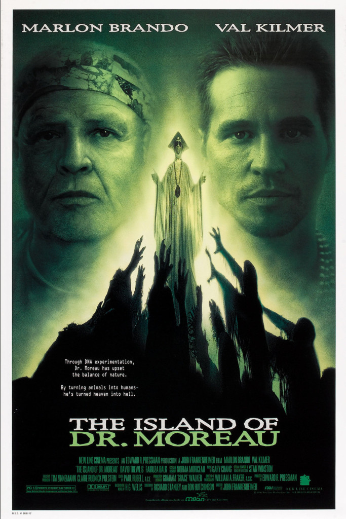 The Island of Dr. Moreau (1996) - poster