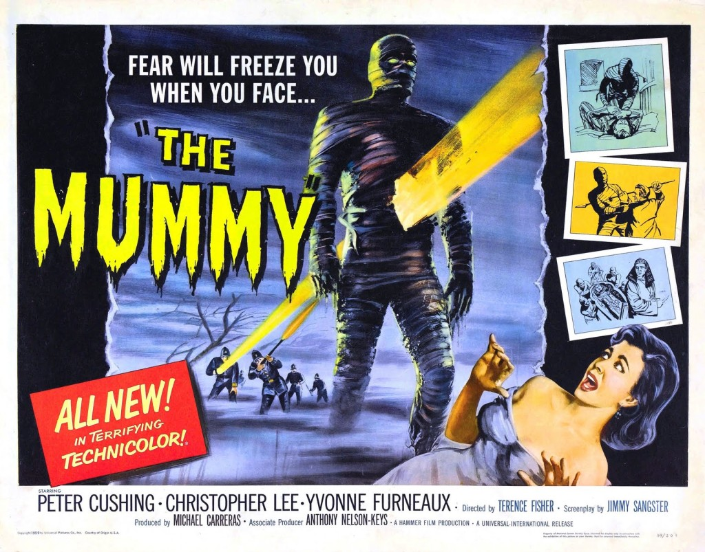 The Mummy (1959) - poster