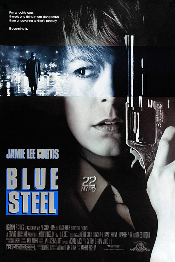 Blue Steel (1989) - poster