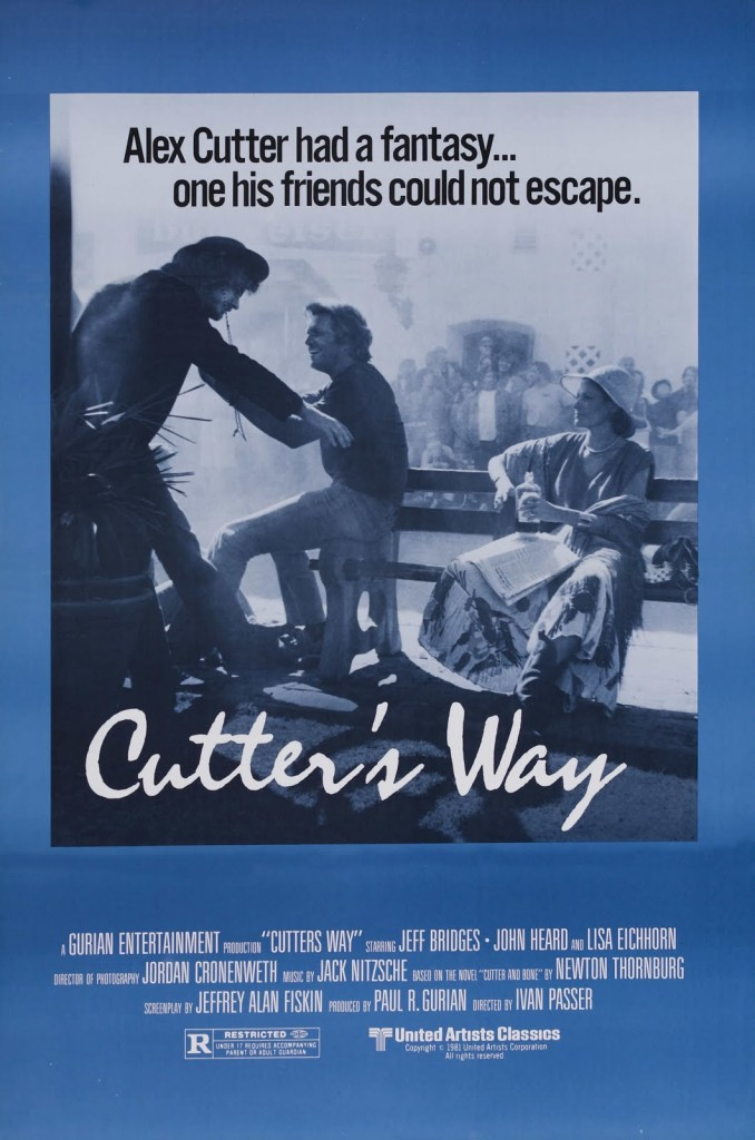 Cutter's Way (1981) - poster