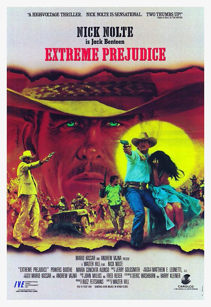 Extreme Prejudice (1987) - poster