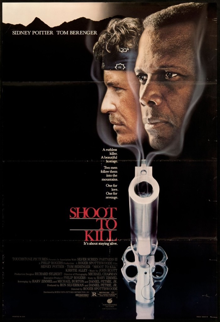 Shoot to Kill (1988) - poster