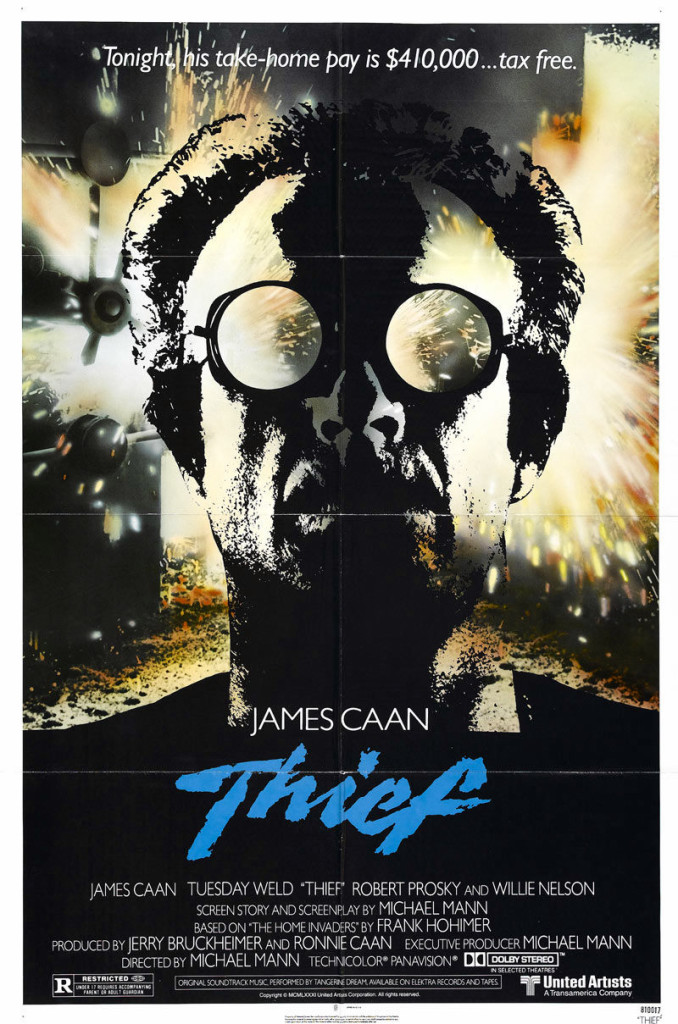 Thief (1981) - poster