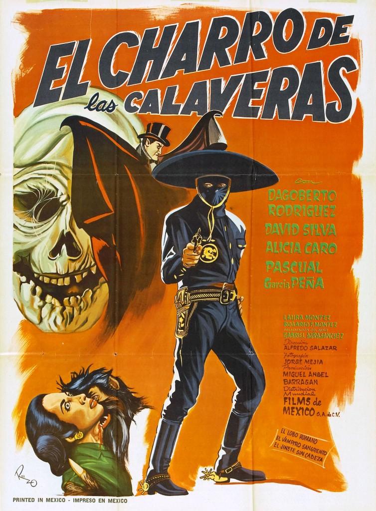 El Charro de las Calaveras (1965) - poster