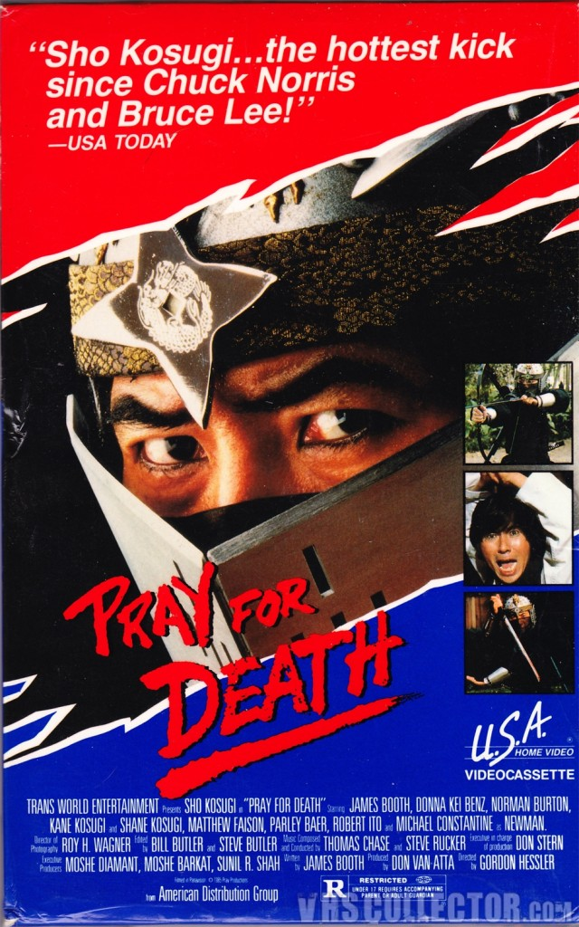 Pray for Death (1985) - poster