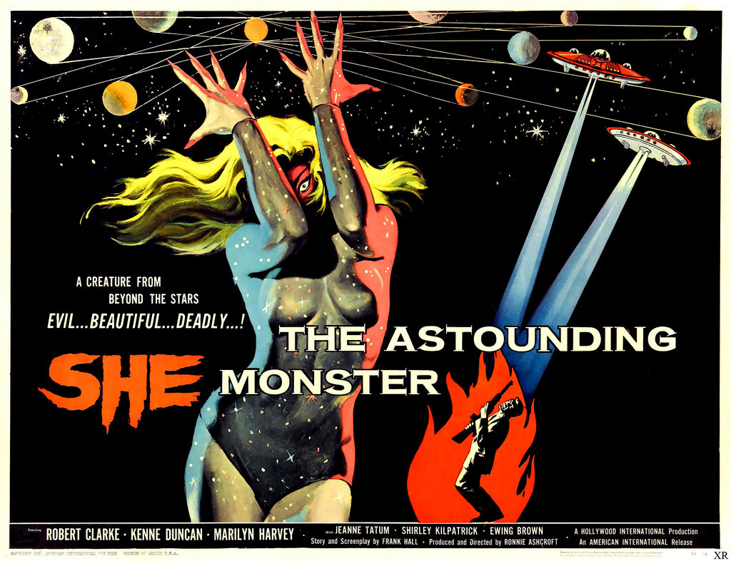 The Astounding She-Monster (1957) - poster