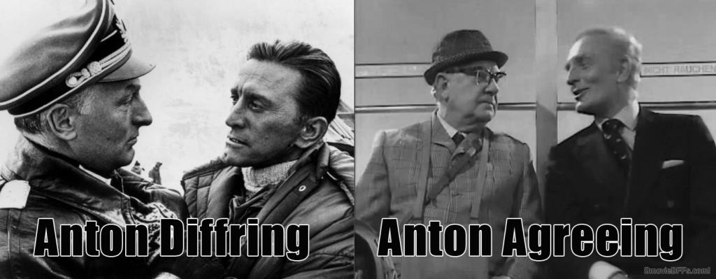 Anton Diffring / Anton Agreeing