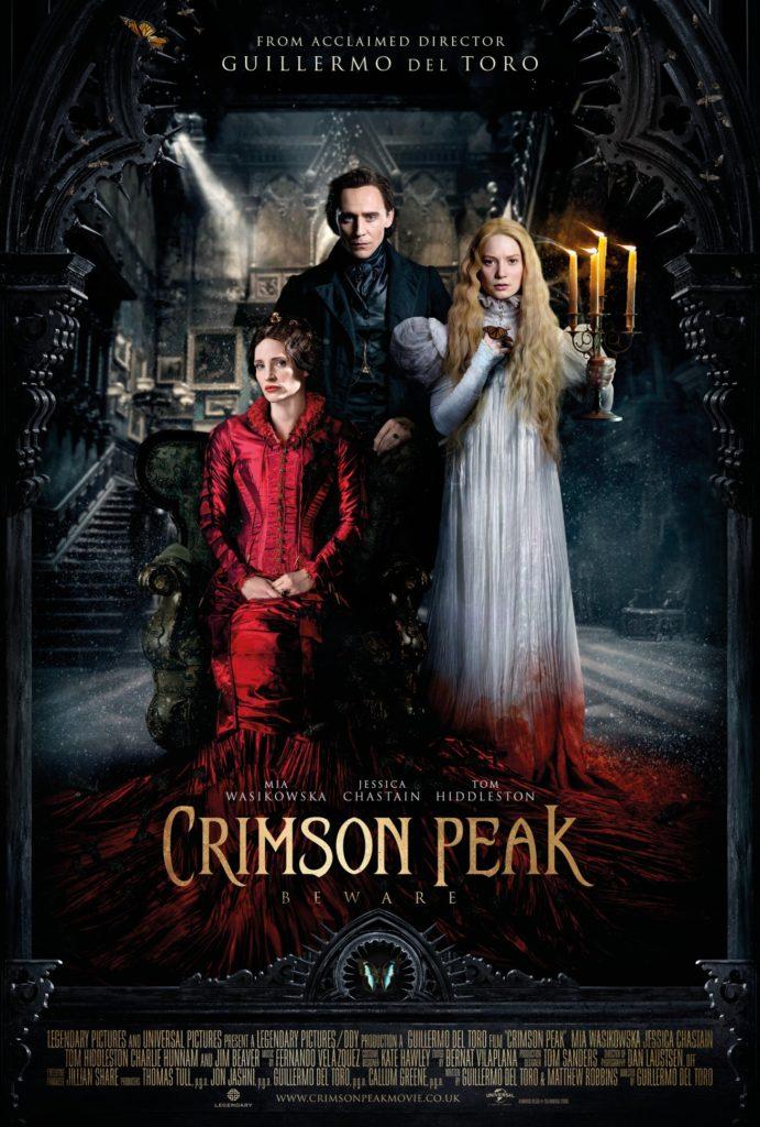 Crimson Peak (2015) - poster