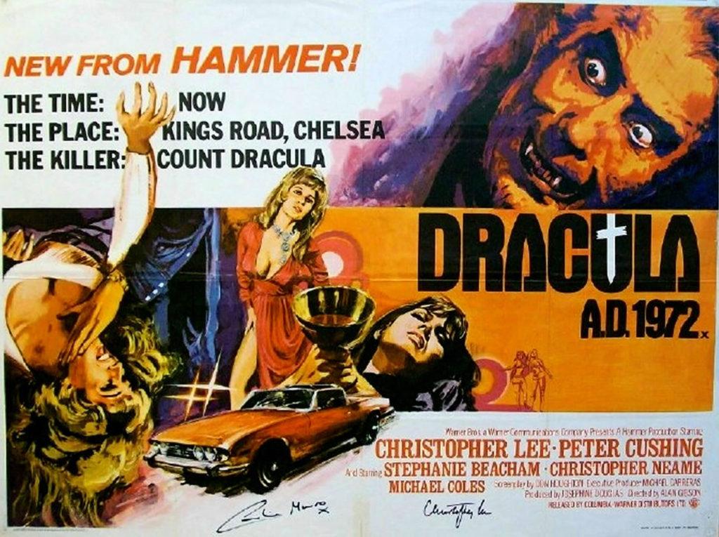 Dracula A.D. 1972 (1972) - poster